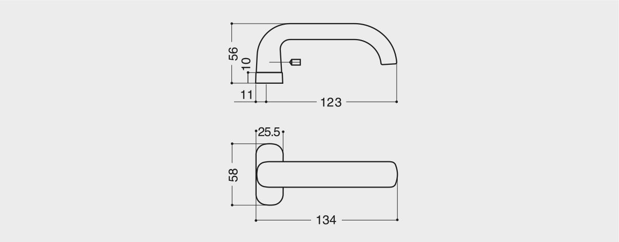 Maniglie Per Porte Economiche In Alluminio E Pvc Esinplast